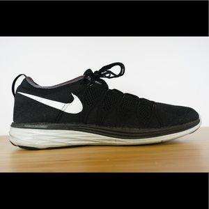 Nike Flyknit Lunar2 Black Running Training Shoes